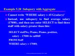 example 5 20 subquery with aggregate1