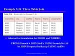example 5 26 three table join1