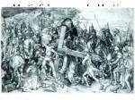 martin schongauer la mont e au calvaire vers 1475 gravure au burin 28 4 x 42 6 cm