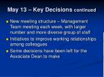 may 13 key decisions continued1