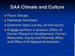 saa climate and culture
