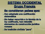 sistema occidental grupo franc s1