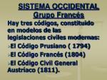 sistema occidental grupo franc s3