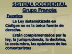 sistema occidental grupo franc s4