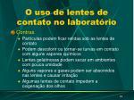 o uso de lentes de contato no laborat rio1