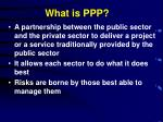 what is ppp