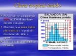 clima tropical mido