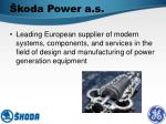 koda power a s