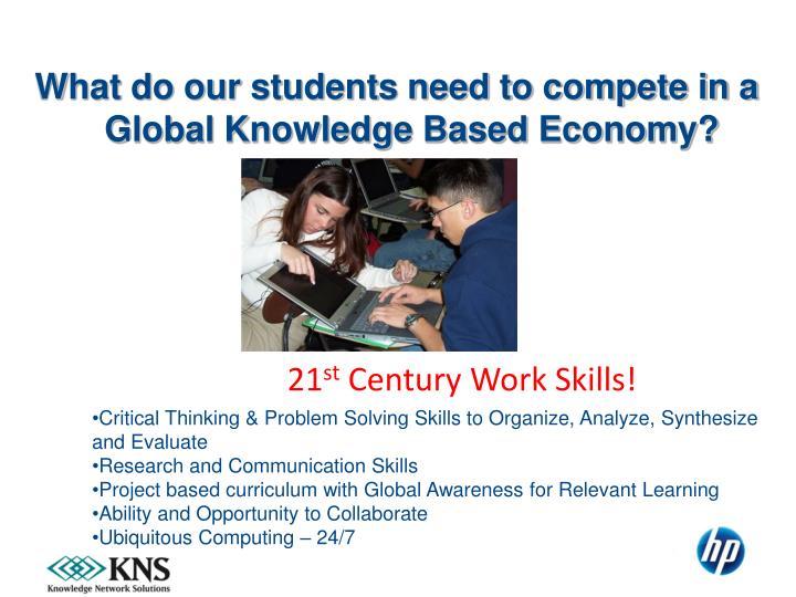21 st century work skills