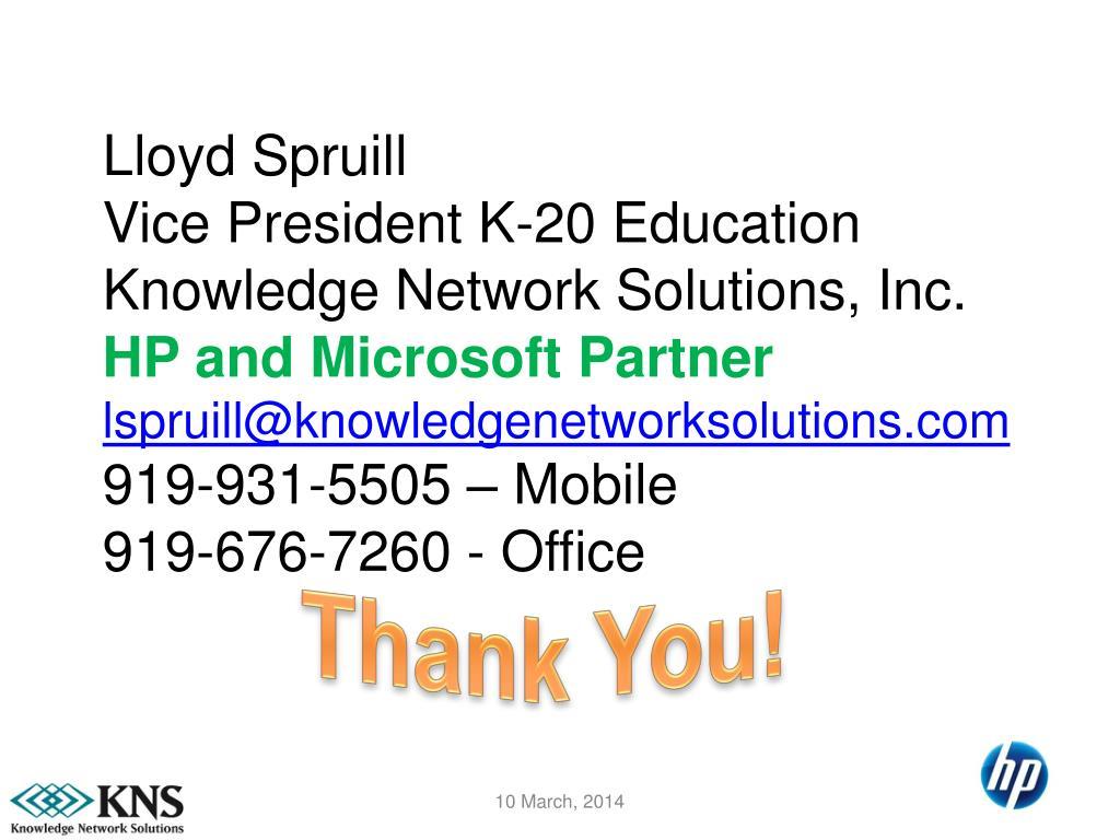 Lloyd Spruill