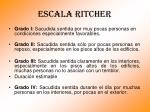 escala ritcher