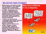 blocos militares