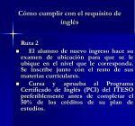 c mo cumplir con el requisito de ingl s1