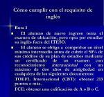 c mo cumplir con el requisito de ingl s2