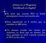 c mo es el programa certificado en ingl s1