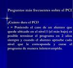 preguntas m s frecuentes sobre el pci1