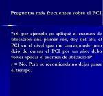 preguntas m s frecuentes sobre el pci4