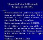 ubicaci n f sica del centro de lenguas en el iteso