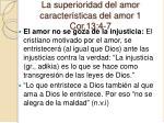 la superioridad del amor caracter sticas del amor 1 cor 13 4 710