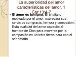 la superioridad del amor caracter sticas del amor 1 cor 13 4 72