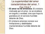 la superioridad del amor caracter sticas del amor 1 cor 13 4 75