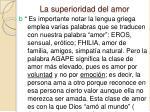 la superioridad del amor2
