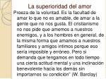 la superioridad del amor4