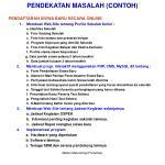 pendekatan masalah contoh1