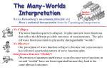 the many worlds interpretation
