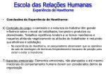 escola das rela es humanas experi ncia de hawthorne6