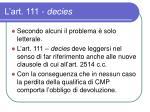 l art 111 decies5
