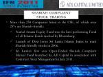shariah compliant stock trading