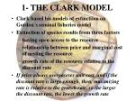 1 the clark model