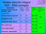 modelo atenci n integral aen 2000 corregido