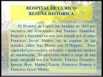 hospital de curico rese a historica