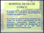 hospital de dia de curico