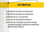 estimativa