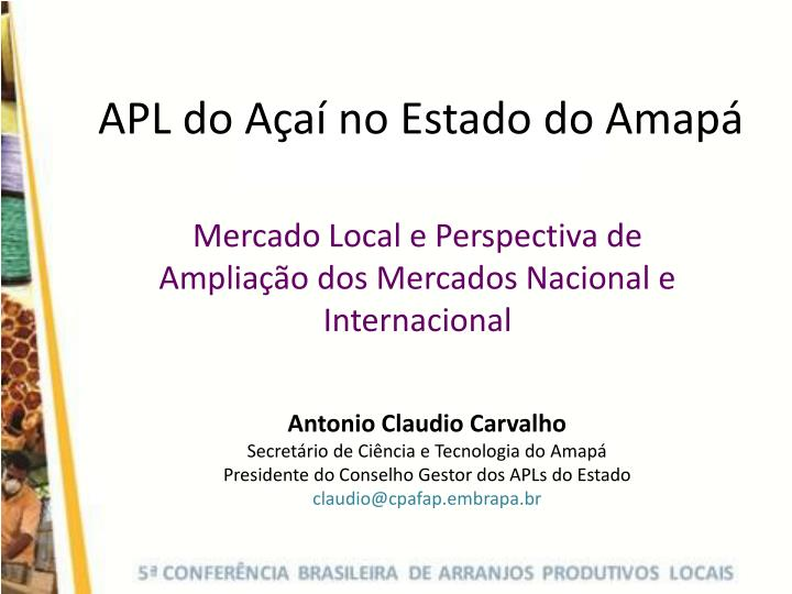 apl do a a no estado do amap n.