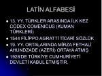 lat n alfabes