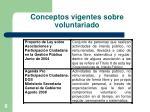 conceptos vigentes sobre voluntariado1