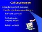 cai development7