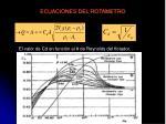 ecuaciones del rotametro