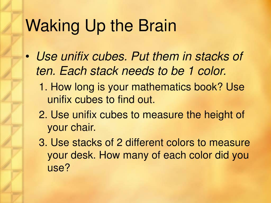 Waking Up the Brain