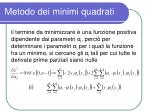 metodo dei minimi quadrati3