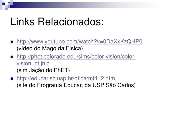 Links Relacionados: