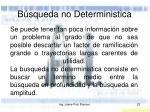 b squeda no deterministica