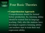 four basic theories2