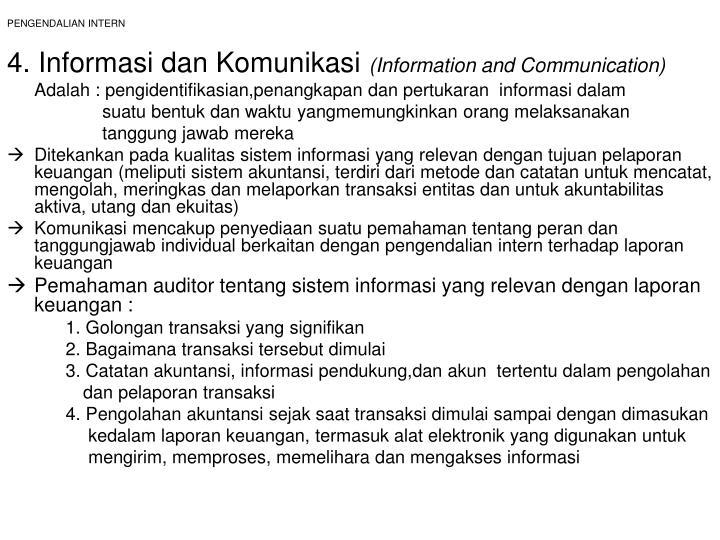 PPT - PENGENDALIAN INTERN PowerPoint Presentation - ID:936563