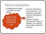 reforma eclesi stica
