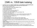 cmk m 135 6 daki katalog